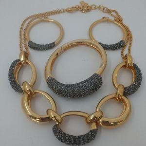Vince camuto necklace earrings & bracelet